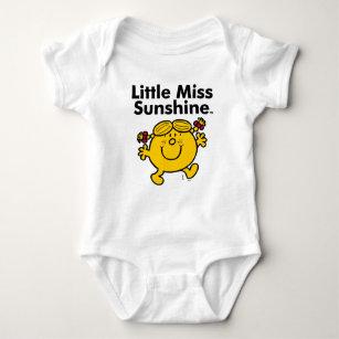 Little Miss | Little Miss Sunshine is a Ray of Sun Baby Bodysuit