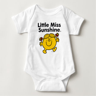 Little Miss | Little Miss Sunshine is a Ray of Sun Baby Bodysuit