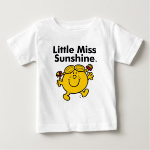 78a651cb8756 Little Miss | Little Miss Sunshine is a Ray of Sun Baby T-Shirt