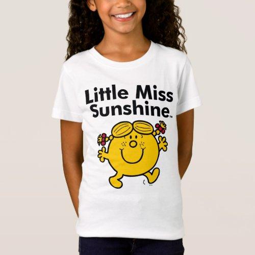 Little Miss  Little Miss Sunshine is a Ray of Sun T_Shirt
