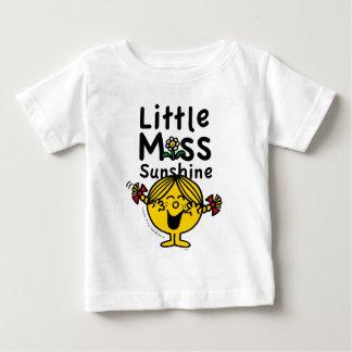Little Miss   Little Miss Sunshine Laughs Baby T-Shirt