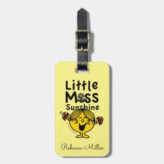 Little Miss | Little Miss Sunshine Laughs Bag Tag