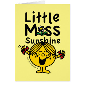 Little Miss | Little Miss Sunshine Laughs Card