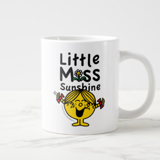 Little Miss | Little Miss Sunshine Laughs Giant Coffee Mug