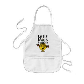 Little Miss | Little Miss Sunshine Laughs Kids' Apron