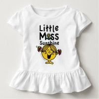 Little Miss   Little Miss Sunshine Laughs Toddler T-shirt