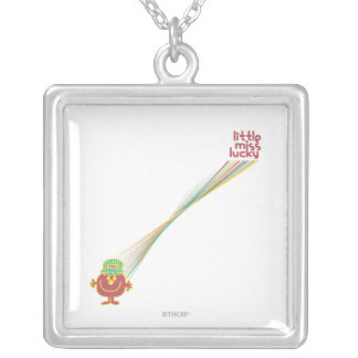 Little Miss Lucky | Rays Of Luck Silver Plated Necklace