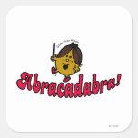 Little Miss Magic   Abracadabra Square Sticker