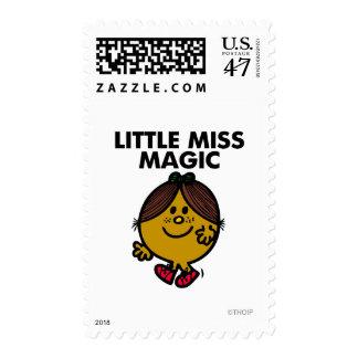 Little Miss Magic | Black Lettering Postage