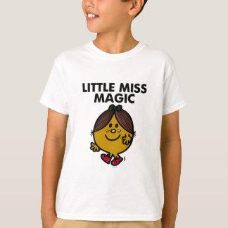 Little Miss Magic   Black Lettering T-Shirt