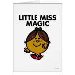 Little Miss Magic Classic Greeting Cards
