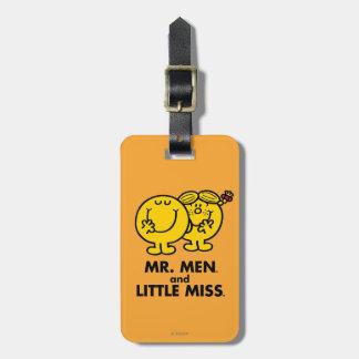 Little Miss & Mr. Little Bag Tag