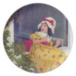 Little Miss Muffet Nursery Rhyme Party Plate