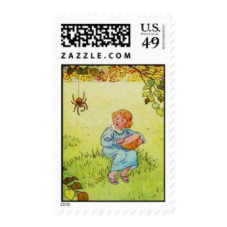 Little Miss Muffet Postage