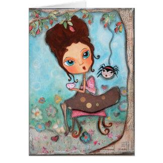 Little Miss Muffett Card
