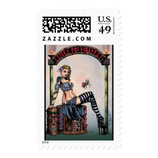 Little Miss Muffit Postage Stamp