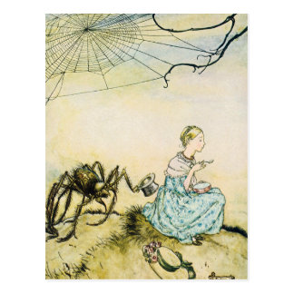 Little Miss Muffit Postcard