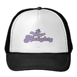 Little Miss Naughty Balancing Act Trucker Hat
