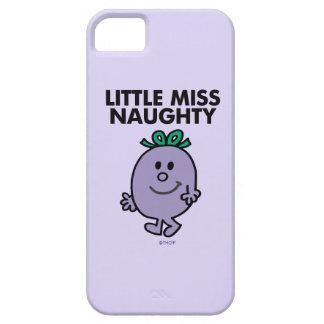 Little Miss Naughty | Black Lettering iPhone SE/5/5s Case