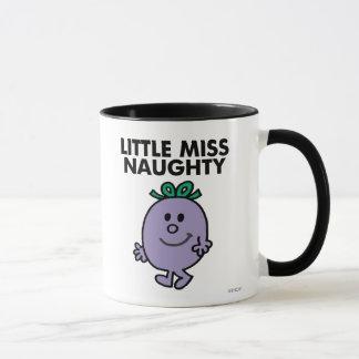 Little Miss Naughty | Black Lettering Mug