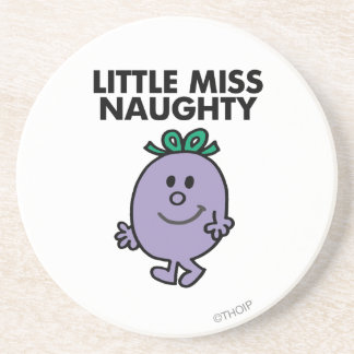 Little Miss Naughty Classic 1 Beverage Coasters