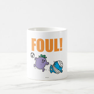 Little Miss Naughty Fouls Mr. Bump Coffee Mug