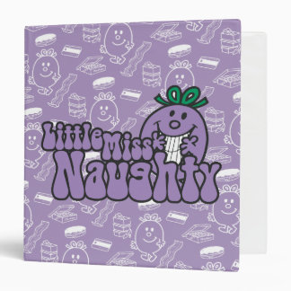 Little Miss Naughty Hiding Binder
