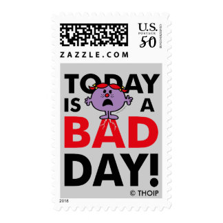 Little Miss Naughty | Today is a Bad Day Postage