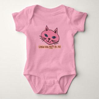 Little Miss No It All Baby Bodysuit