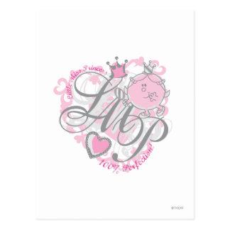 Little Miss Princess - 100% Perfection Postcard