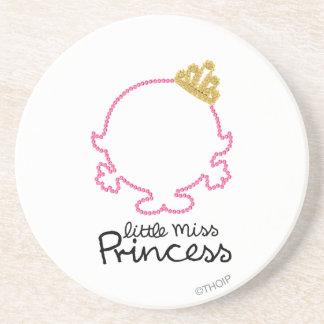 Little Miss Princess Bejeweled Drink Coasters