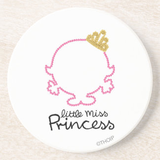 Little Miss Princess | Blank Face Drink Coasters
