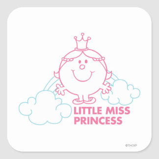 Little Miss Princess | Head In The Clouds Square Sticker