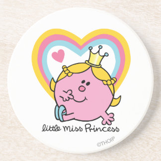 Little Miss Princess | Hearts Drink Coasters