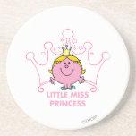 Little Miss Princess Icon 4 Drink Coaster