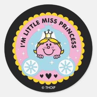 Little Miss Princess | I'm A Princess Classic Round Sticker