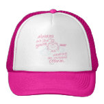 Little Miss Princess | Invisible Crown Trucker Hat