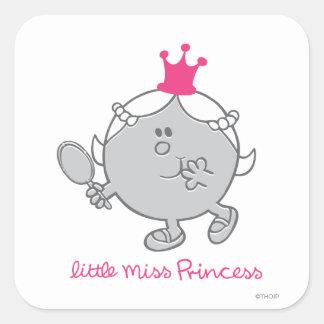 Little Miss Princess | Mirror Mirror Square Sticker