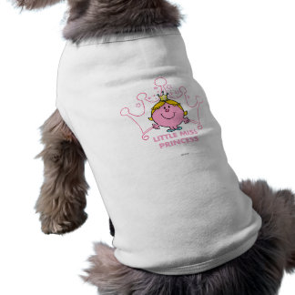 Little Miss Princess | Pink Five Pointed Crown Tee