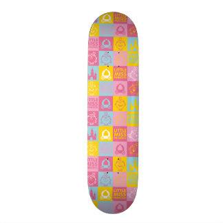 Little Miss Princess | Pretty Pastel Pattern Skateboard