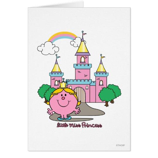 Little Miss Princess   Royal Castle Card