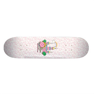 Little Miss Princess | Royal Castle Skateboard Deck