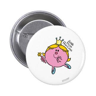 Little Miss Princess | Royal Scepter Button