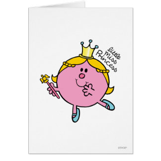 Little Miss Princess | Royal Scepter Card