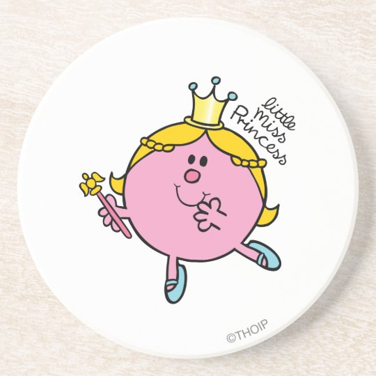 Little Miss Princess | Royal Scepter Coaster