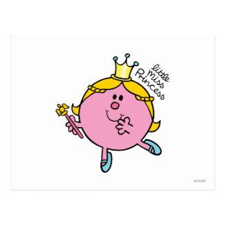 Little Miss Princess | Royal Scepter Postcard