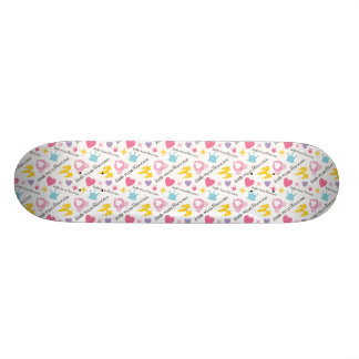 Little Miss Princess Skateboard Deck