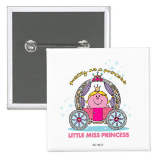 Little Miss Princess | Sparkling Carriage Button