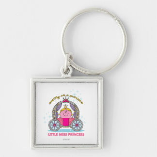 Little Miss Princess | Sparkling Carriage Keychain