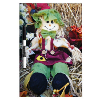 Little Miss Scarecrow Dry-Erase Board
